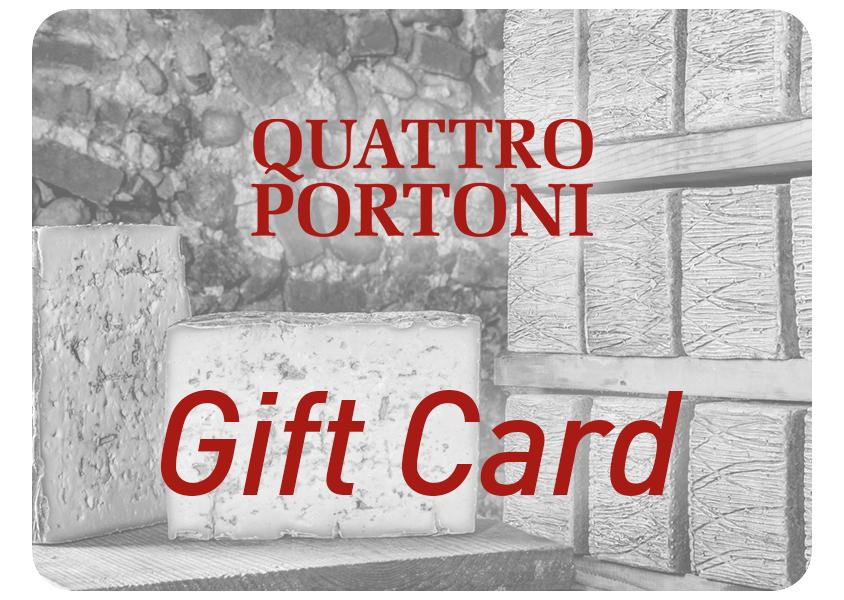 Gift Card Quattro Portoni - spendibile online